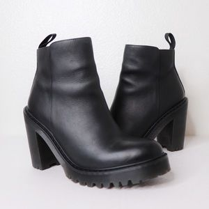 Dr. Martens Magdalena Ankle Zip Leather Booties